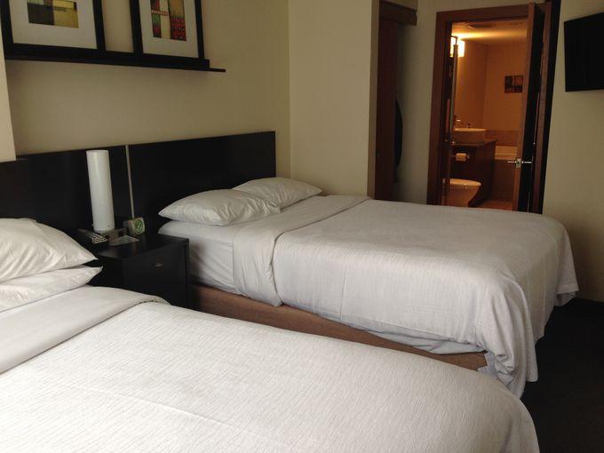 ベッドの台数やサイズ、部屋数で客室を選ぼう