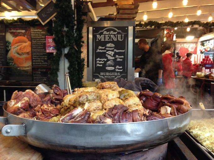 クリスマスマーケットで食べたいものといえば・・・