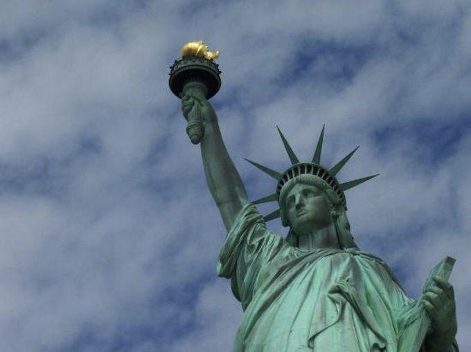 1.自由の女神(ニューヨーク州)