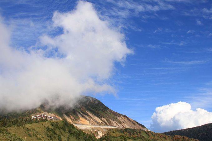 空が近い!雲に手が届く山岳ルート