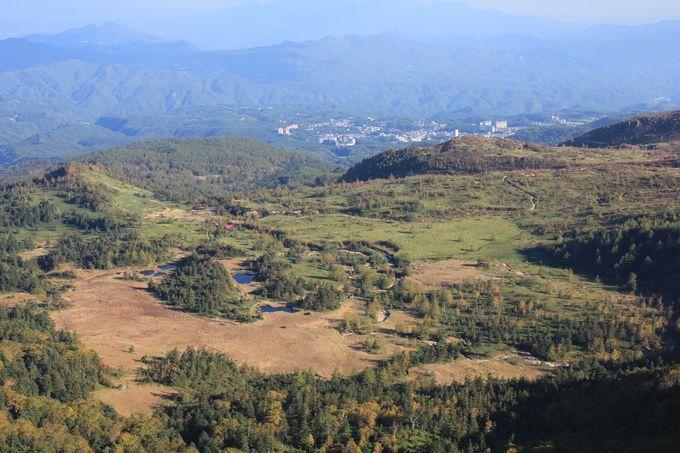 日本国道標高最高地点から群馬県草津方面へ