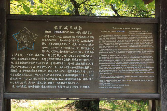 龍岡城五稜郭について