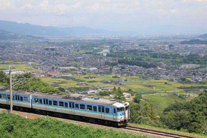 眼下に広がる「日本三大車窓」の眺望