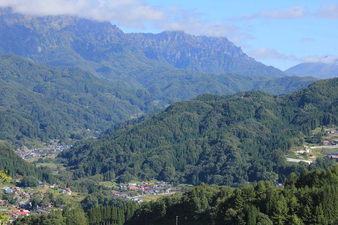 周囲を山々に囲まれた自然豊かな里「鬼無里」