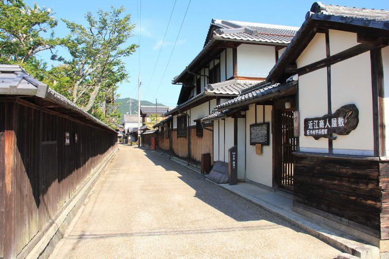 近江商人のふるさと 趣きのある五個荘金堂町の町並みを歩く