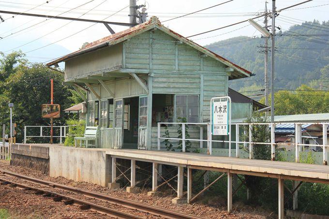 趣きのある木造駅舎 八木沢駅