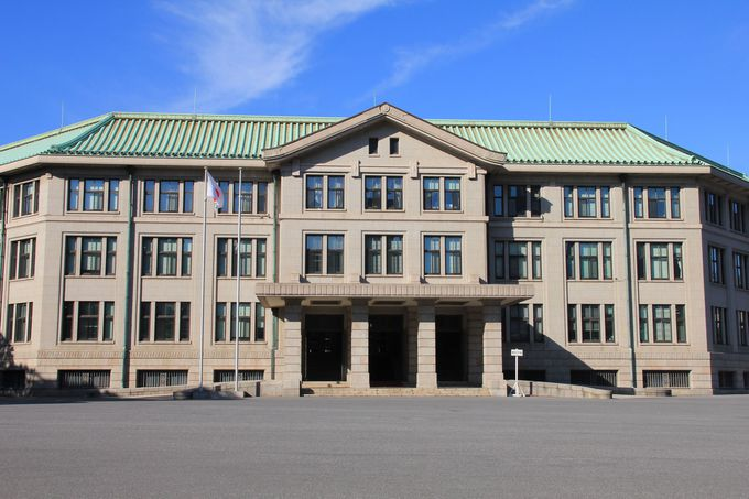 戦前に建てられた近代建築・宮内庁庁舎