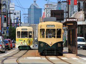 富山観光におすすめ!路面電車に乗って名物ます寿しめぐり旅