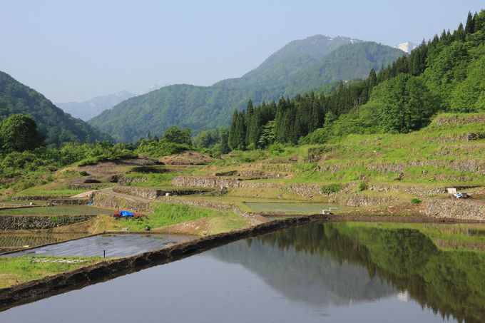 全国農村景観100選に選ばれた折り紙つきの風景