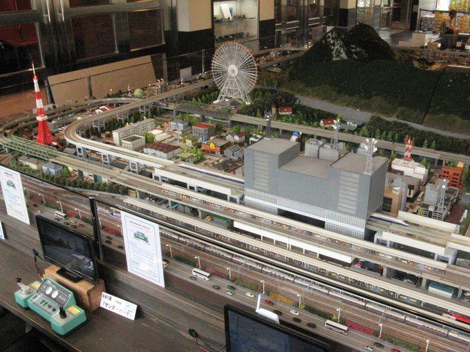 あの名列車を運転!特大鉄道模型ジオラマが魅力の糸魚川駅