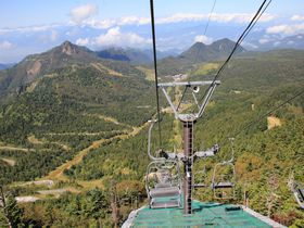 眺望抜群の志賀高原・横手山頂で、天空の世界を堪能!