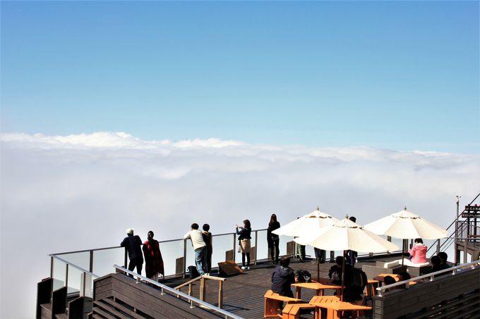 スキーヤー以外も!絶景SORA terraceへのアクセス