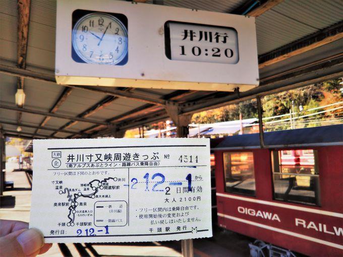 鉄道ファン目線でみる井川線乗車ポイント