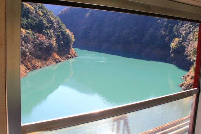 高さ日本一の橋梁や秘境駅。飽きることのない井川線の車窓
