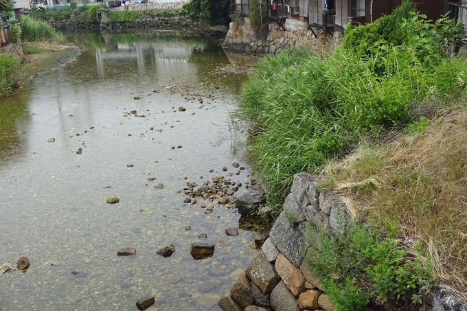 三原石工の技の光る、江戸の水刎(みずはね)