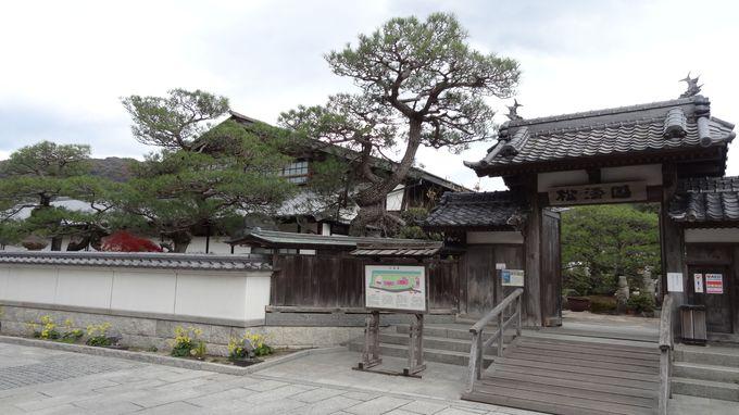 下蒲刈島は、安芸広島藩の朝鮮からのお客を迎える海の玄関