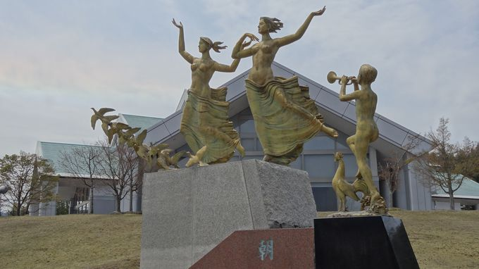 圓鍔勝三(えんつば かつぞう)彫刻記念公園・美術館へ