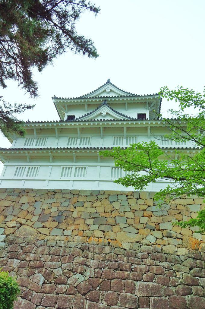 伏見櫓は、家康が築いた伏見城松の丸東櫓を移築したもの・・
