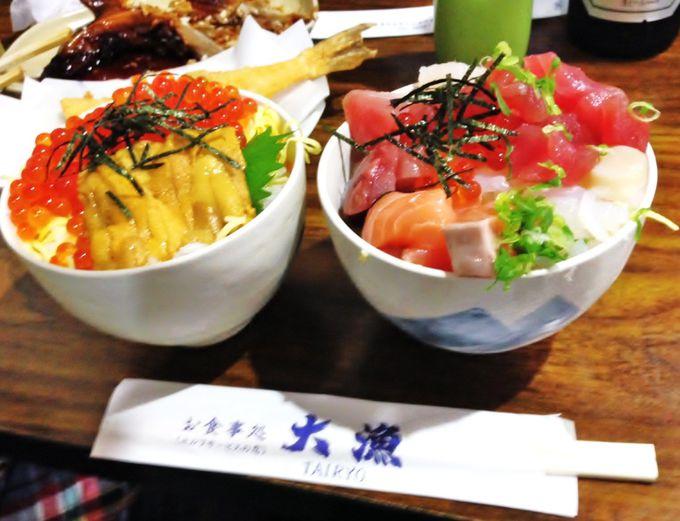 大漁で食べるコツは、大山祇神社参拝前にちょっとひと工夫♪