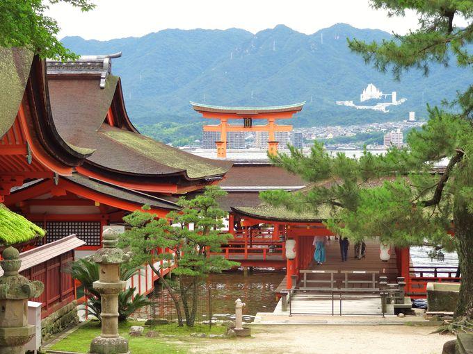 1.広島観光の目玉!「宮島&厳島神社」