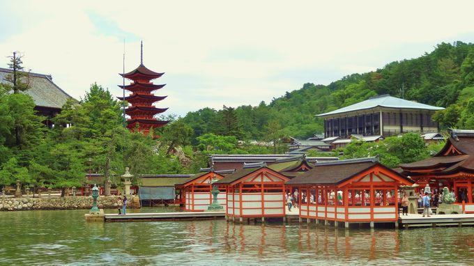 和洋と唐様のコントラストが見事な五重塔は美しい♪