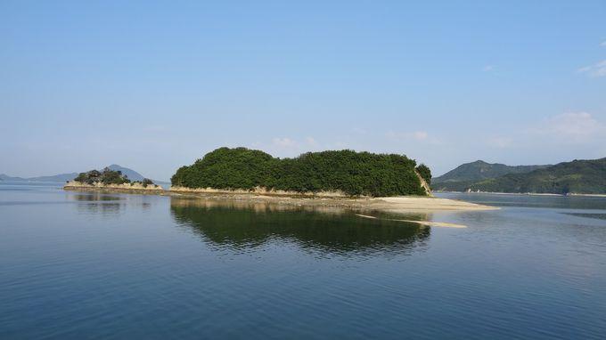 伝説の三ツ子島から海から真水が湧く「みたらしの水」へ