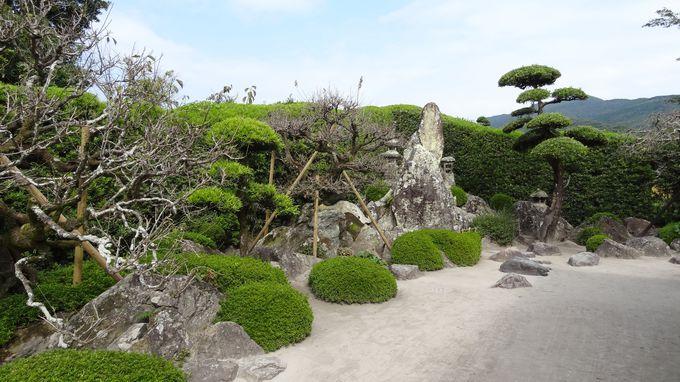 枯山水の庭園・・水墨画のような美しさ〜庭にはそれぞれ個性あり