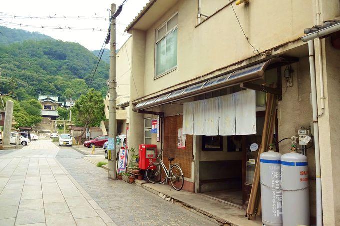名物の最中「お祇園さん」は、創業100年の老舗和菓子屋さんで!