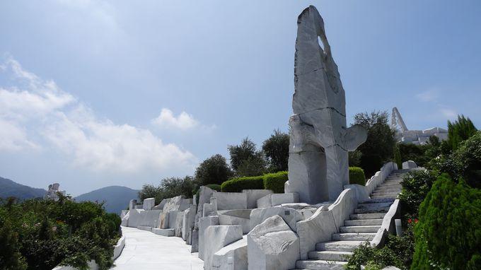 美しいギリシャみたい・・「そよかぜの路」から「天猫」の見守る階段へ