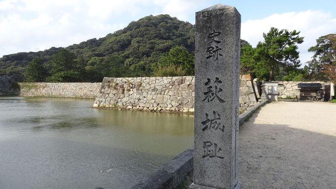 別名指月城と呼ばれ、五層白亜の天守閣もあった平山城