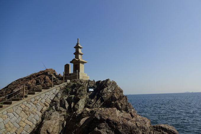 石塔からの眺めもまた絶景!そこは海・・