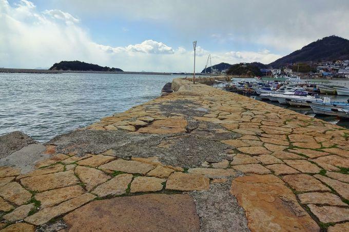 港のアクセントとしても美しい!江戸時代の波止