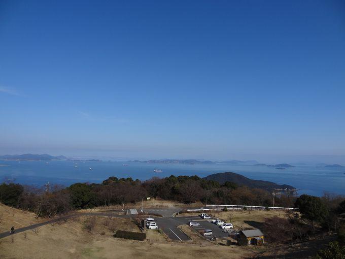 瀬戸内海の島々が一望〜春には桜、秋の紅葉も楽しめる