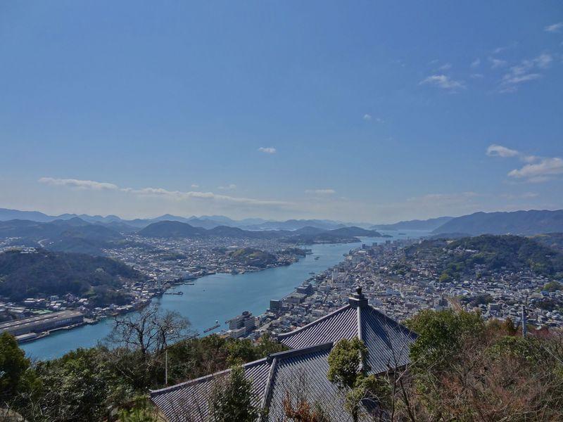 尾道水道を眺めるならココが最高!浄土寺山展望台の絶景