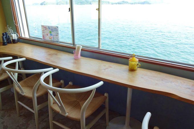 瀬戸内海の風景もご馳走♪「cafe NEJIRO」の優雅な時間