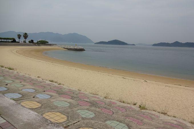 一年中海と触れ合える「すなみ海浜公園」