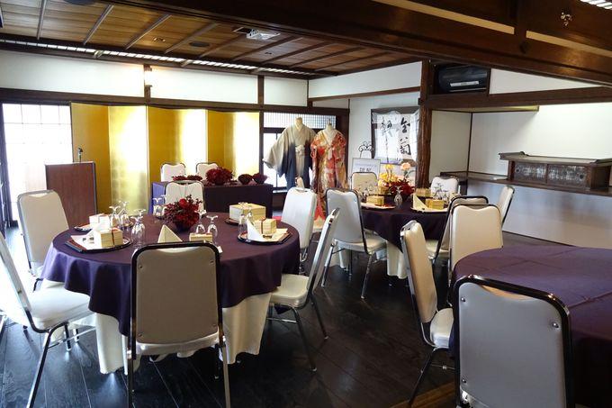 結婚披露宴も行える2階の大広間!