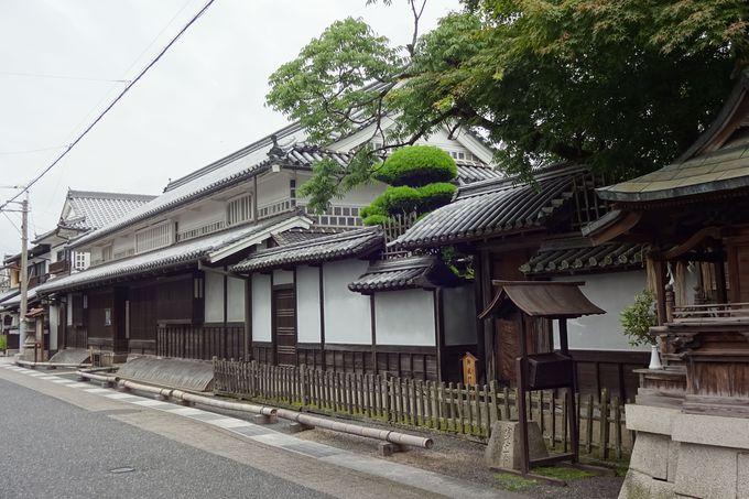 「旧矢掛本陣石井家住宅」の堂々とした佇まい