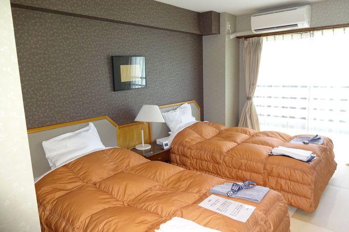 明るく快適なベッドルーム〜リビングのあるお部屋も