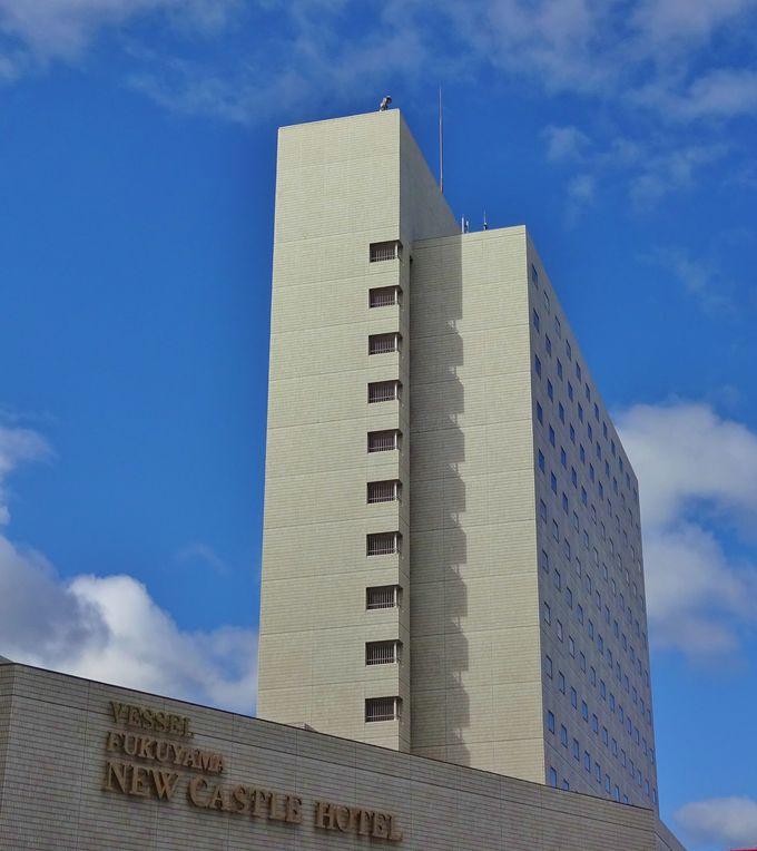 「福山ニューキャッスルホテル」は福山駅から徒歩約1分の好立地