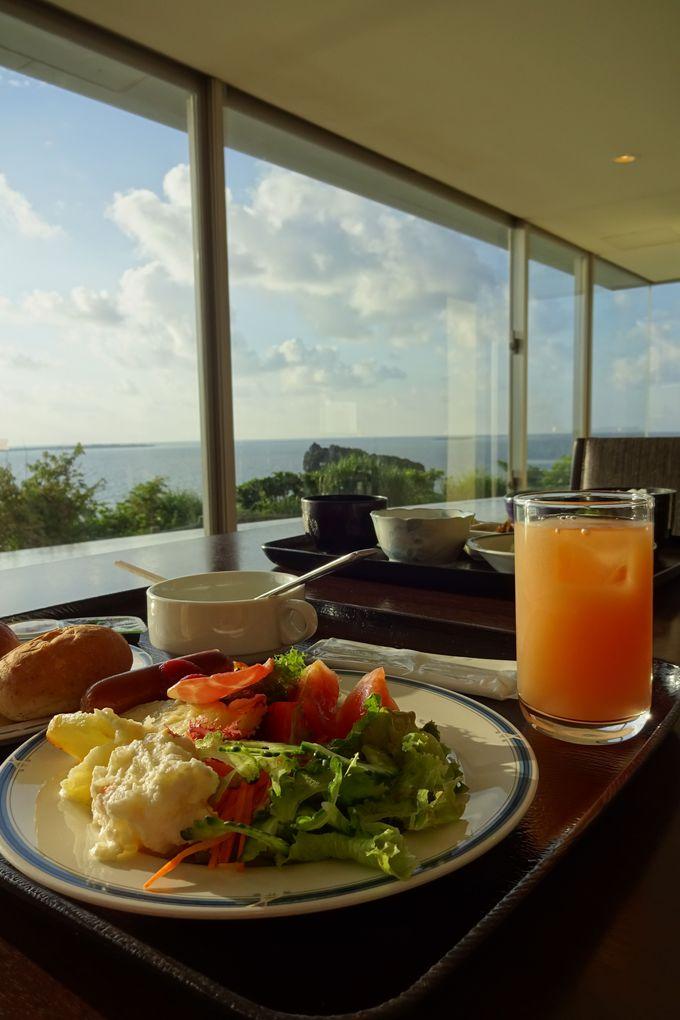 眺望満点の「レストラン・浜比庭(ハピナ)」で朝食〜景色もご馳走
