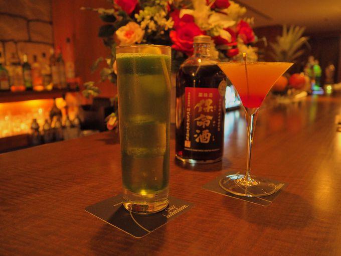 鞆の浦名産「保命酒」を使用したカクテルも味わえる♪