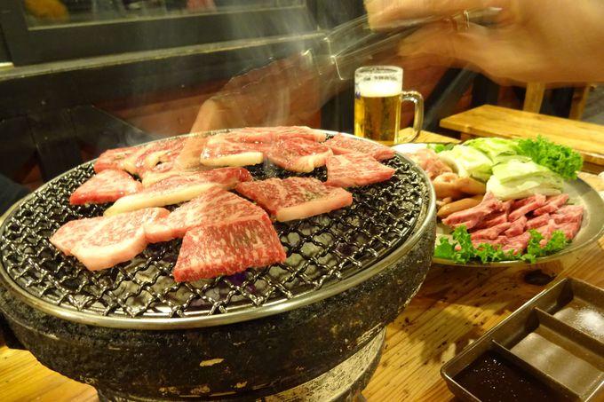 うーん♪これは美味〜炭火処「野宴」での夕食