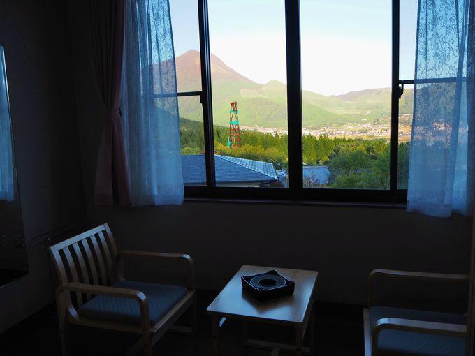 宿一番の眺めの良い部屋〜本館2階の客室は特等席!