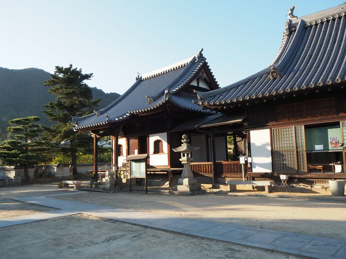 西暦730年建立の歴史ある寺・光明坊へ