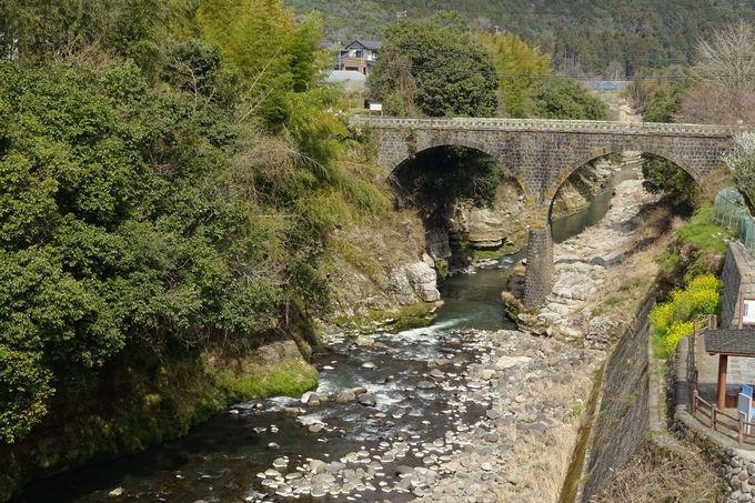 院内町最高の高さを誇る2連アーチ橋・荒瀬橋