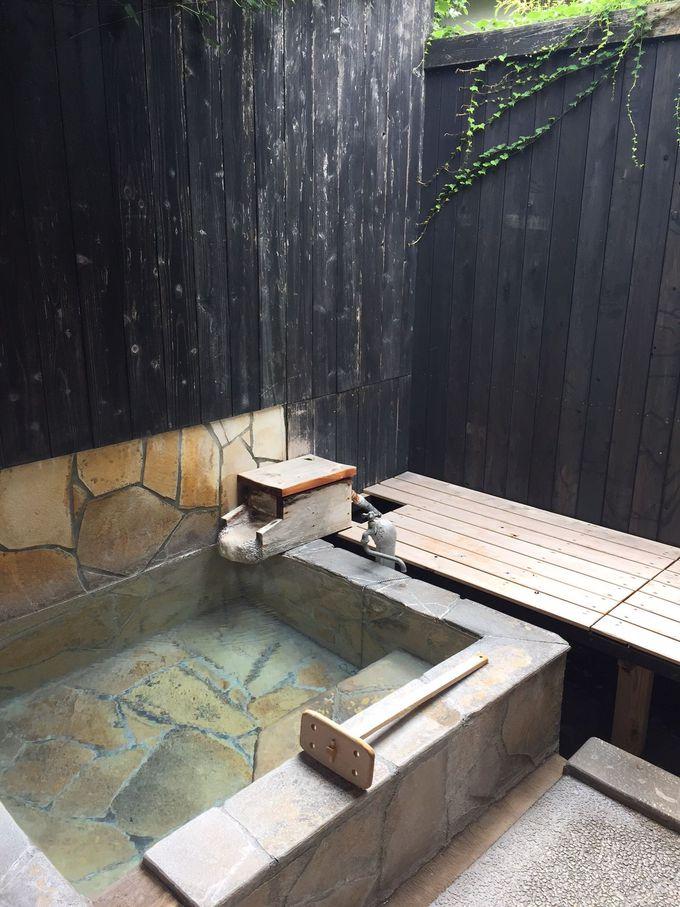 一番リーズナブルな可愛い貸切風呂も
