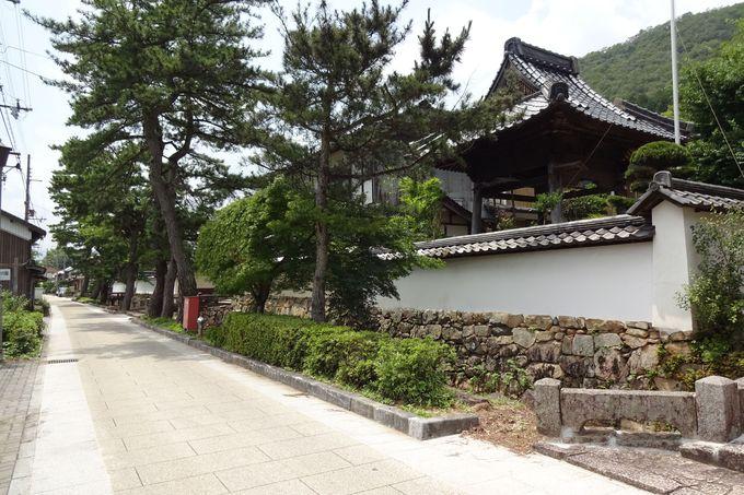 竹田城下の赤松広秀や太田垣光景の墓参をして登城