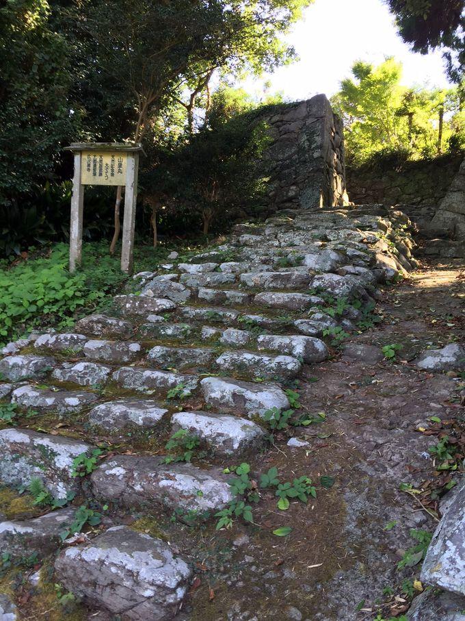 太閤秀吉の屋敷跡があった「山里丸」跡