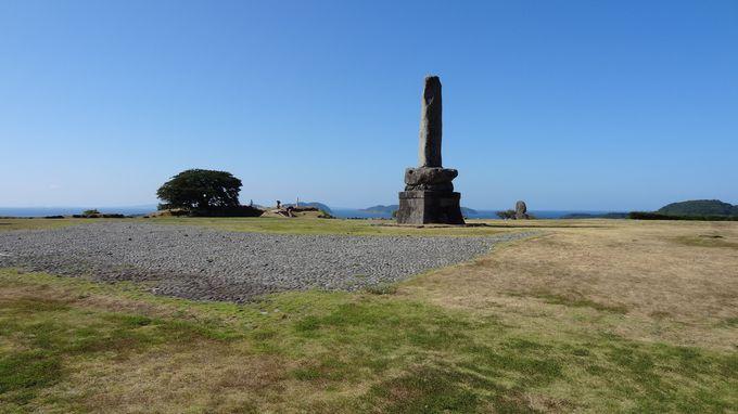 青木月斗の句碑や東郷平八郎の「名護屋城址」碑もある本丸